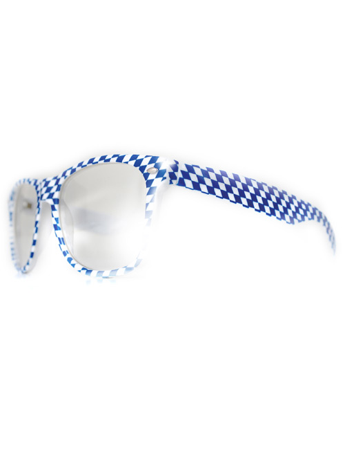 Glasses blue-white